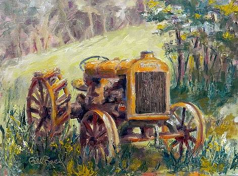 Fordson Tractor by William Reed