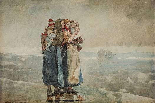 Forebodings by Winslow Homer