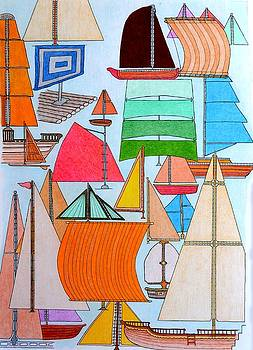 Foresails by Gregory Carrico