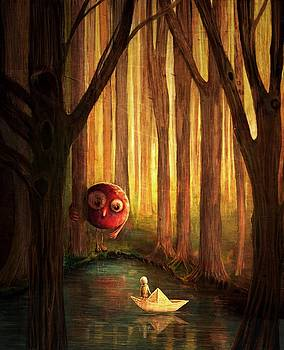 Forest Encounter by Catherine Swenson