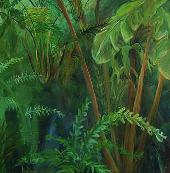 Forest Impression by Nancy Viola