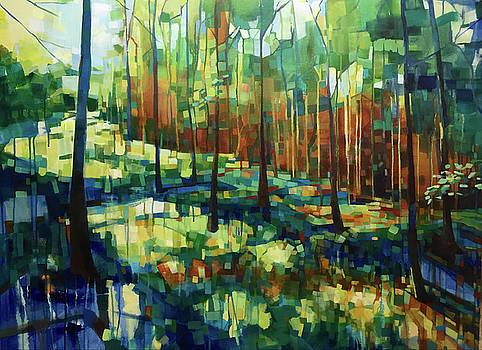 Forest In Pieces by Michele Norris