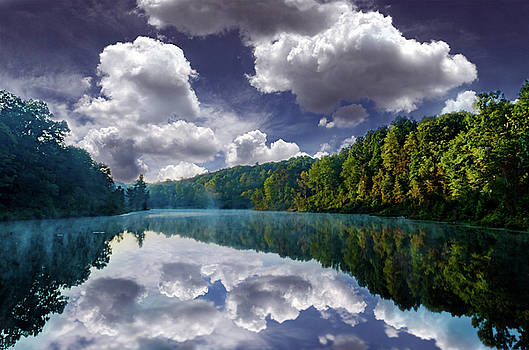 Forest Lake by J Austin