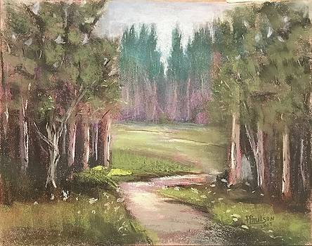 Forest path by Peggy Paulson