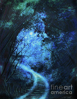 Forest pathway by Gina Signore