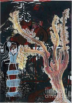 Forest Root Girl by Franziska Kolbe