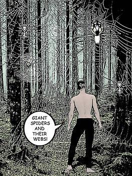 Forest Scene Comic Illustration 1 by Solomon Barroa