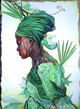 Forest spirit by Bernadett Bagyinka