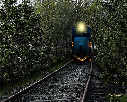 Virginia Palomeque - Forest Train