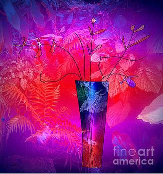 Forest Vase by Iris Gelbart