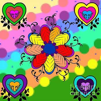 Forever Floral by Diamante Lavendar