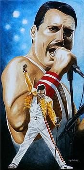Forever Freddie Mercury by Al  Molina