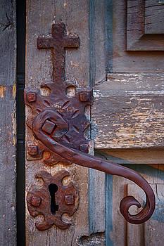 Guy Shultz - Forged Door Handle