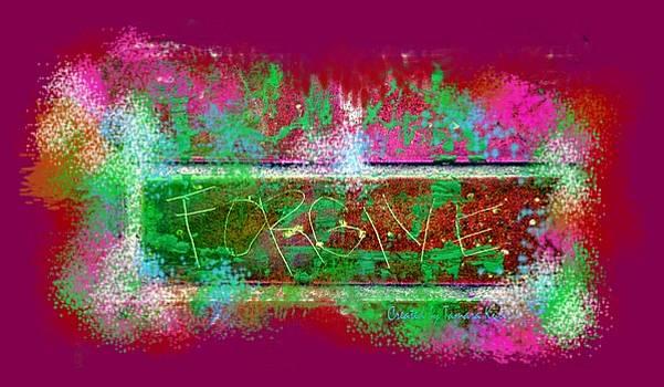 Tamara Kulish - Forgive Brick pink tshirt