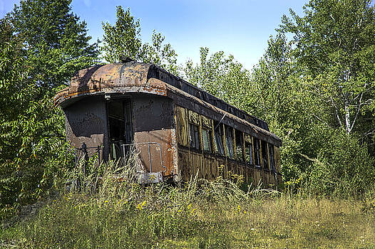 Forgotten on the Rails by Ray Summers Photography
