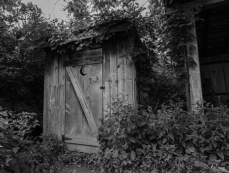 Forgotten Outhouse by Denise McKay