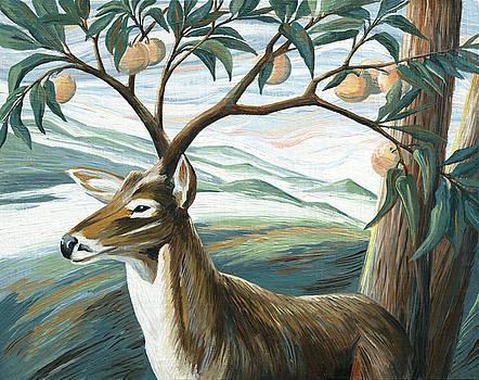 Forked Deer by Paula Blasius McHugh
