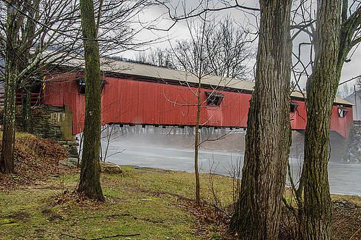 Forksville Covered Bridge by Jim Cook