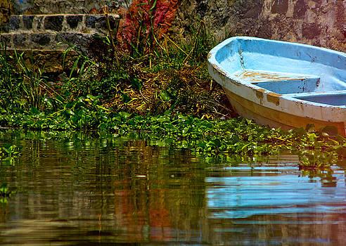 Forlorn - The Turquoise Boat by Nabila Khanam