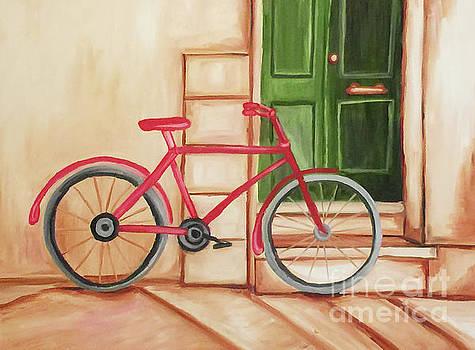 Forlorn Bike by Beth Erickson