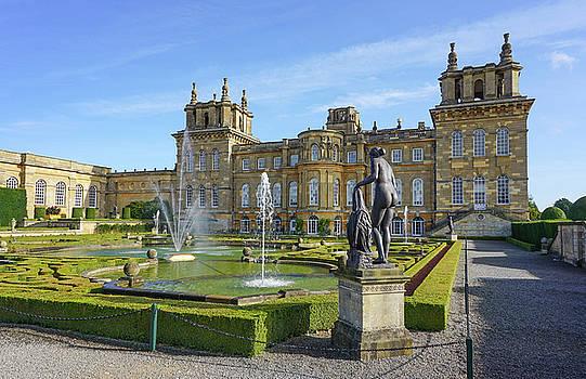 Formal Garden Blenheim Palace by Joe Winkler
