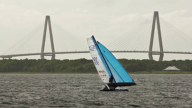 Formula 18 Sailing Cat Big Booty Charleston SC by Dustin K Ryan