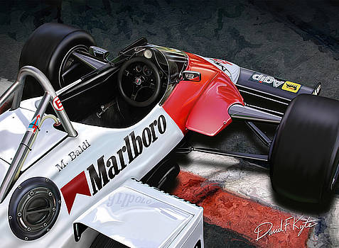 Formula One Car by David Kyte