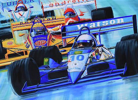 Hanne Lore Koehler - Formula1 Wall Mural
