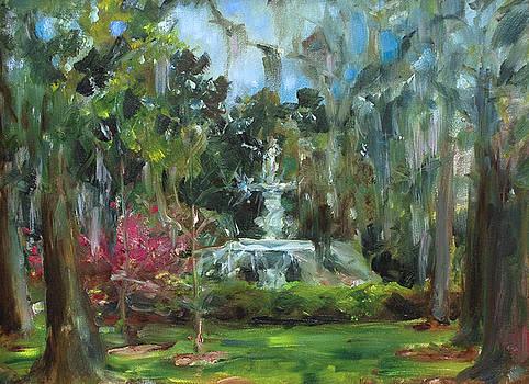 Forsyth Park Savannah by Ann Bailey