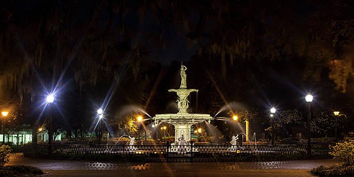 Forsythe Park at Twilight by Andrew Soundarajan