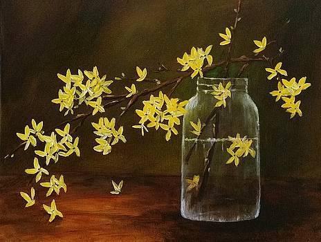 Forsythia by Sallie Wysocki