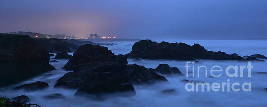 Fort Bragg Long Exposure Seascape I by Along The Trail