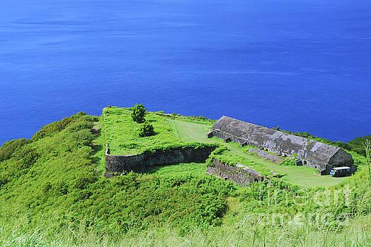 Fort Brimstone Hill by Gary Wonning