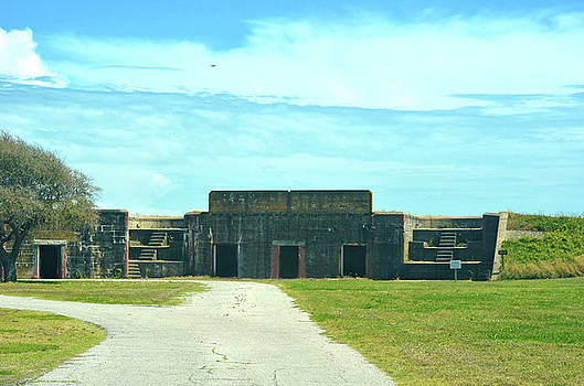 Fort Caswell Southport NC by Sandi OReilly