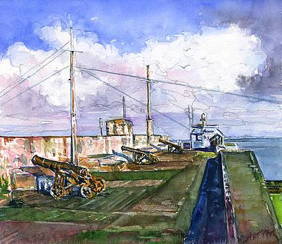Fort Charlotte, Kingstown by John D Benson