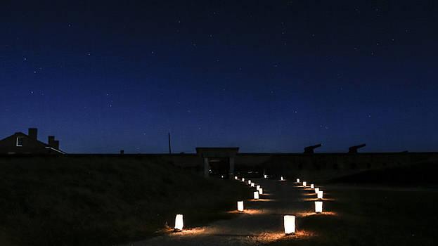 Paula Porterfield-Izzo - Fort Clinch at Night