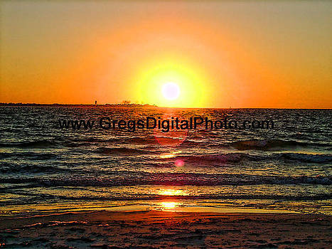 Fort Desoto Sunset by Gregory Urbano