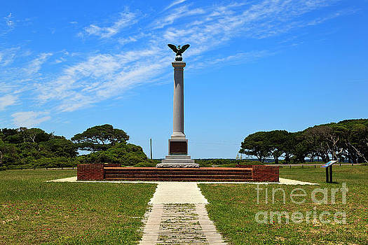 Fort Fisher Confederate Monument by Jill Lang