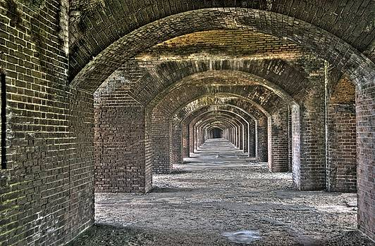 Fort Jefferson - Dry Tortugas - Arches by Timothy Lowry