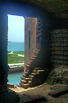 Fort Jefferson - Dry Tortugas Inside Room by Timothy Lowry