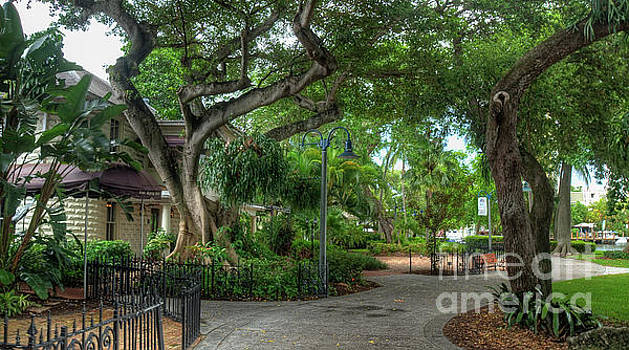 Fort Lauderdale Riverwalk scenic by Ules Barnwell