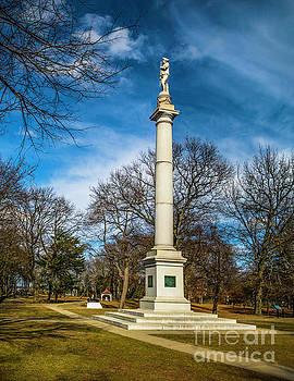 Nick Zelinsky - Fort Mercer Monument at Red Bank