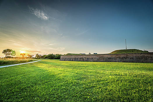 Fort Moultrie at Peace by Matt Spangard