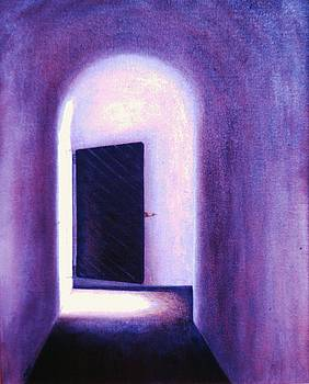 Fort Moultrie doorway by Jean Ehler