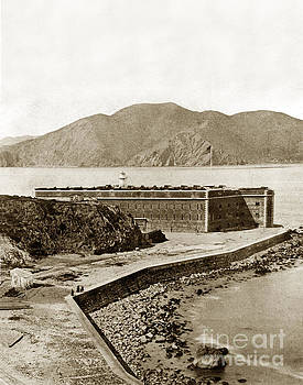 California Views Mr Pat Hathaway Archives - Fort Point and the Golde Gate San Francisco Cal Circa 1870