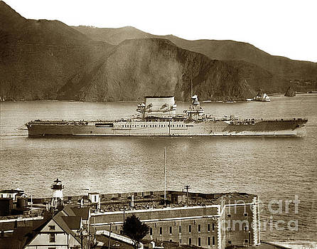 California Views Mr Pat Hathaway Archives -  Fort Point Golden GateSan Francisco Bay March 31 1928