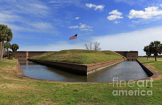 Fort Pulaski in Georgia by Louise Heusinkveld