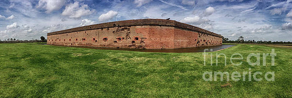 Fort Pulaski Panoramic by Tom Gari Gallery-Three-Photography