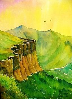 Fort Ramparts by Sandeep Khedkar