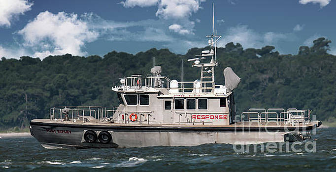 Fort Ripley Pilot Boat by Dale Powell